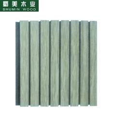 蜀美生态木隔音板家庭影院会议室琴房墙面板材木质吸音板系列SM-13/3型 定金