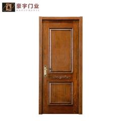 豪宇木业实木门套装门定制卧室书房室内门L-658 图片色 实木 定金
