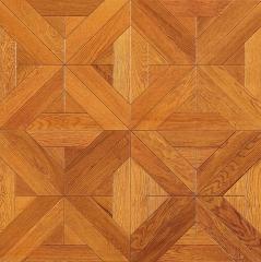 安心地板实木复合地板 地热地暖专用 刚才直销环保耐磨橡木多层实木 ㎡
