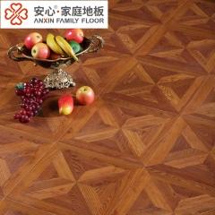 安心地板12MM强化复合地板艺术拼花爱情海风格超大规格锁扣仿实木地板 ㎡