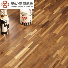 安心地板实木复合地板黑胡桃指接 彩色外贸地板 个性装修 ㎡
