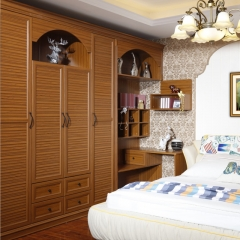 多伦斯定制衣柜棕色实木衣柜 图片色 实木 尺寸 订金