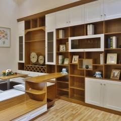 多伦斯定制衣柜实木衣柜 棕色 实木 尺寸 订金