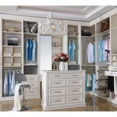 多伦斯定制衣柜米白色实木衣柜 图片色 实木 尺寸 订金
