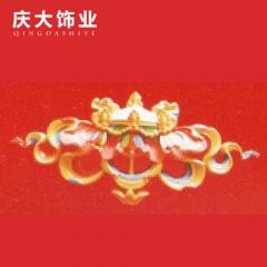 庆大饰业藏式装饰材料吊顶背景墙边框室内外装饰线条B-004 定金