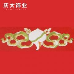 庆大饰业藏式装饰材料吊顶背景墙边框室内外装饰线条A-017 定金