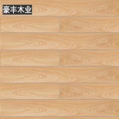 豪丰地板 木地板强化复合家用卧室工程耐磨防水地暖木质 7417