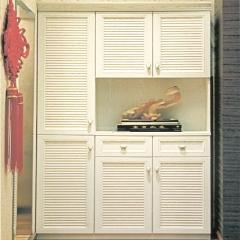 必美入户鞋柜定制 现代简约玄关柜 客厅隔断柜定制 图片色 颗粒板柜体 ㎡