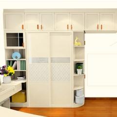 柏傢定制衣柜 卧房家具定制整体走入式推拉门收纳衣柜定做 定金
