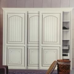 亚固衣柜 OX-8008  卧室定制衣柜 简雅衣柜 定金