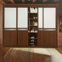 亚固衣柜 OX-8016   卧室定制衣柜 现代简雅衣柜 定金