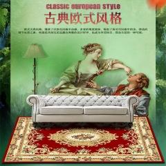 华德地毯 古典欧式风格客厅茶几地毯 卧室书房环保舒适长方形地毯 300×400CM