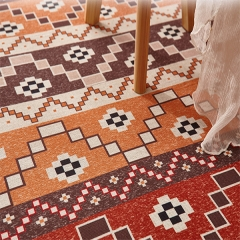 华德地毯 客厅地毯北欧风情防滑茶几卫生间地毯满铺沙发卧室地毯 2M×2.9M