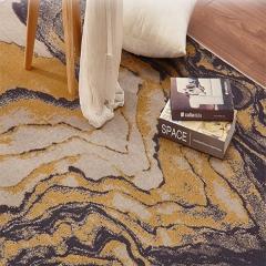 华德地毯 北欧风情卧室地毯几何图案榻榻米茶几定制满铺客厅沙发毯 2M×2.9M