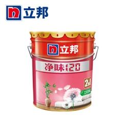 铭宿之心立邦漆 净味120二合一内墙墙面漆 白色乳胶面漆哑光油漆涂料 18L