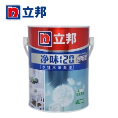 铭宿之心立邦漆 净味120水性木器漆通用型白色白漆透明清漆水性漆环保 2.5KG