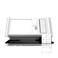 奥普 集成吊顶触屏数显高端嵌入式风暖浴霸QDP6326