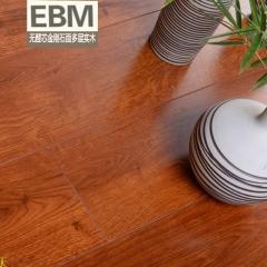 继红地板 EBM无醛芯金刚石多层实木地板 D1506 实木地板 1215*164*15(98元/m^