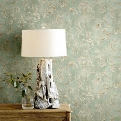 威尔森欧式壁纸奢华 卧室无纺布电视背景墙墙纸 美式复古客厅壁纸3D立体 卷