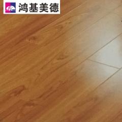 鸿基美德地板长版亮面系列 实木地板G007 1218mm*169mm*12mm