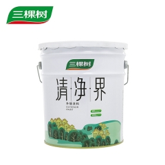 三棵树 清净界外墙乳胶漆 可调色耐洗刷防霉易施工外墙乳胶漆 20KG