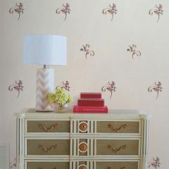 花木兰壁纸简约现代无缝墙布书房儿童房卧室墙纸HML-12 ㎡