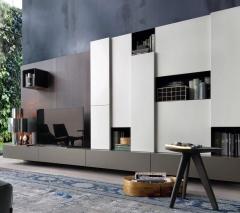 塞维利亚定制家居全屋定制电视柜2 图片色 颗粒板柜体+平板门 ㎡ 定金