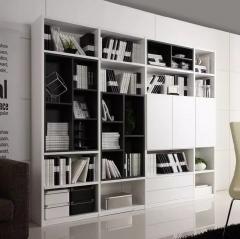塞维利亚定制家居全屋定制书柜4 图片色 颗粒板柜体+吸塑平开门 ㎡ 定金