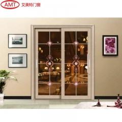 艾美特门窗 重型推拉门厨房开放式88必发手机版登录简约阳台客厅隔断定制 AMJ-2008 订金