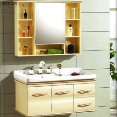 欧派卫浴 浴室柜优等陶瓷盆柜镜收纳柜 A054