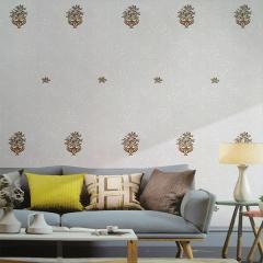 新星墙纸软包 简约时尚墙纸无缝墙布卧室客厅影视墙沙发背景墙X-62 ㎡