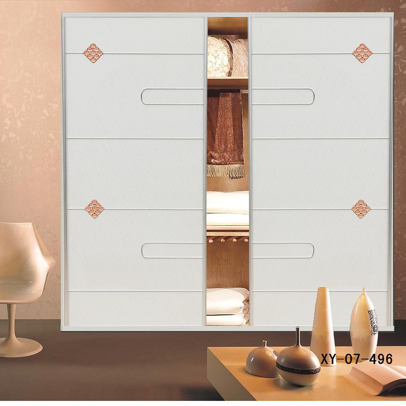 轩匠简约风格实木衣柜2 图片色 实木 定制 订金