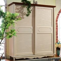 轩匠简约风格实木衣柜XY-19-336 图片色 实木 定制 订金