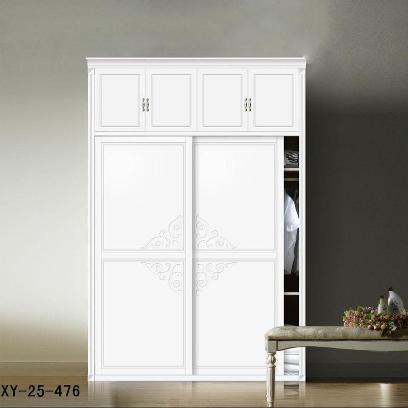 轩匠简约风格实木衣柜xy-25-476 图片色 实木 定制