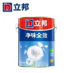 顺达装饰立邦漆 净味全效 室内乳胶漆 墙漆白色刷墙涂料 环保墙面漆 5L