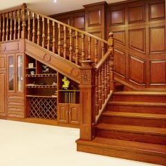 新创艺木业楼梯实木楼梯实木整梯定制 咨询客服 咨询客服 定做 定金