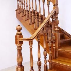 新创艺木业楼梯整套实木金典楼梯装修 咨询客服 咨询客服 定做 定金