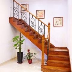新创艺木业实木楼梯楼梯实木整梯定制 咨询客服 咨询客服 定做 定金