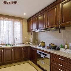 新益橱柜厨房装修全屋定制实木橱柜11 定金