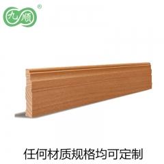 九顺木艺 定制实木线条2 样式材料可定制白胚价 10元/米
