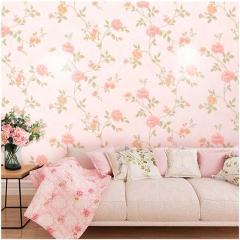 爱舍墙纸 客厅卧室书房背景浪漫田园无缝墙布OS163