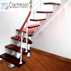 揽月楼梯 专业定制室内扶手各种材质楼梯 定金