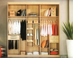 圣豪集成家居 推拉门衣柜 衣柜定制GT-002 图片色 可定制颗粒板、多层实木、指接实木 GT-00