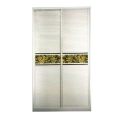 圣豪集成家居 推拉门衣柜 衣柜定制YM-030 图片色 可定制颗粒板、多层实木、指接实木 YM-03
