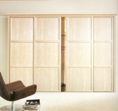 圣豪集成家居 推拉门衣柜 衣柜定制YM-038 图片色 可定制颗粒板、多层实木、指接实木 YM-03