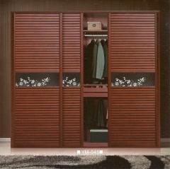 圣豪集成家居 推拉门衣柜 衣柜定制YM-045 图片色 可定制颗粒板、多层实木、指接实木 YM-04