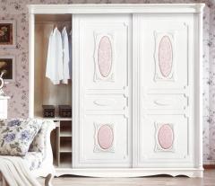 圣豪集成家居 推拉门衣柜 衣柜定制XSYM-055 图片色 可定制颗粒板、多层实木、指接实木 XSY