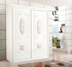 圣豪集成家居 推拉门衣柜 衣柜定制XSYM-057 图片色 可定制颗粒板、多层实木、指接实木 XSY