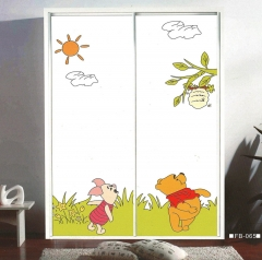 圣豪集成家居 推拉门衣柜 衣柜定制FB-065 图片色 可定制颗粒板、多层实木、指接实木 FB-06