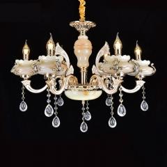 家家旺灯饰  蜡烛灯 6头 欧式创意餐厅卧室灯饰 尺寸与大小咨询客服